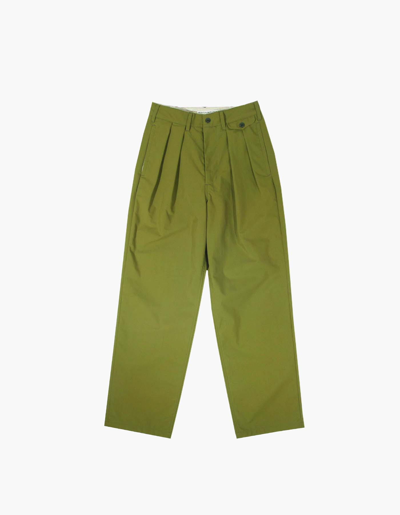 QUICK-DRYING NYLON CHINO PANTS (W) / KHAKI