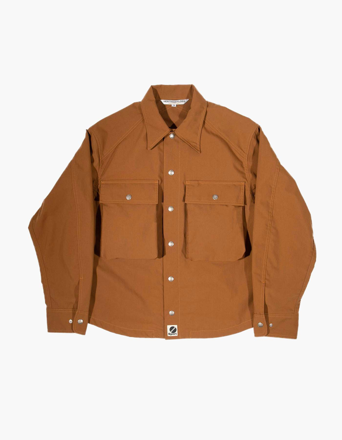 NYLON FIELD SHIRT / CAMEL