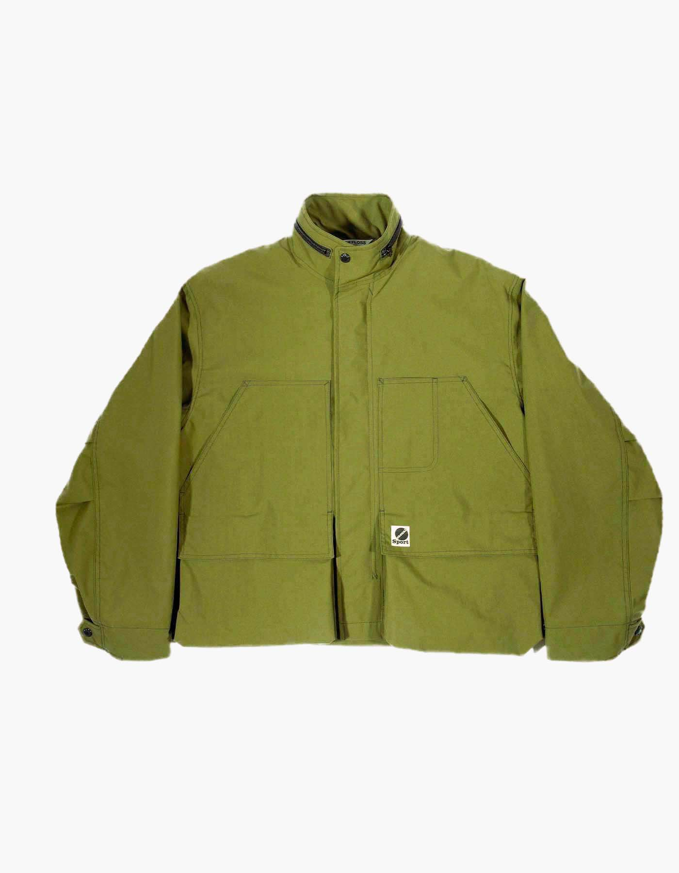 NYLON M-65 HUNTING JACKET / KHAKI