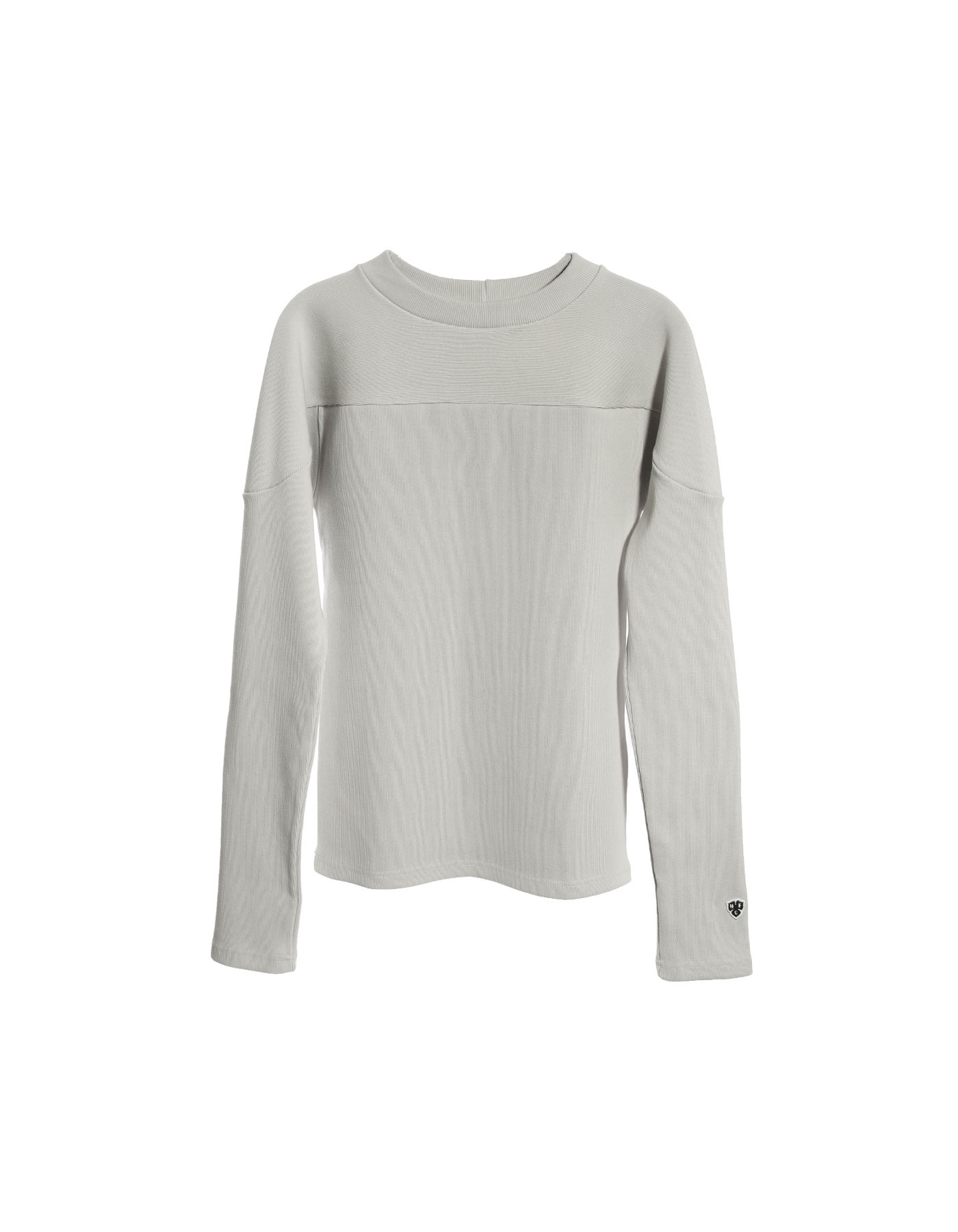 RIB FOOTBALL LONG SLEEVE (W) / LIGHT JADE