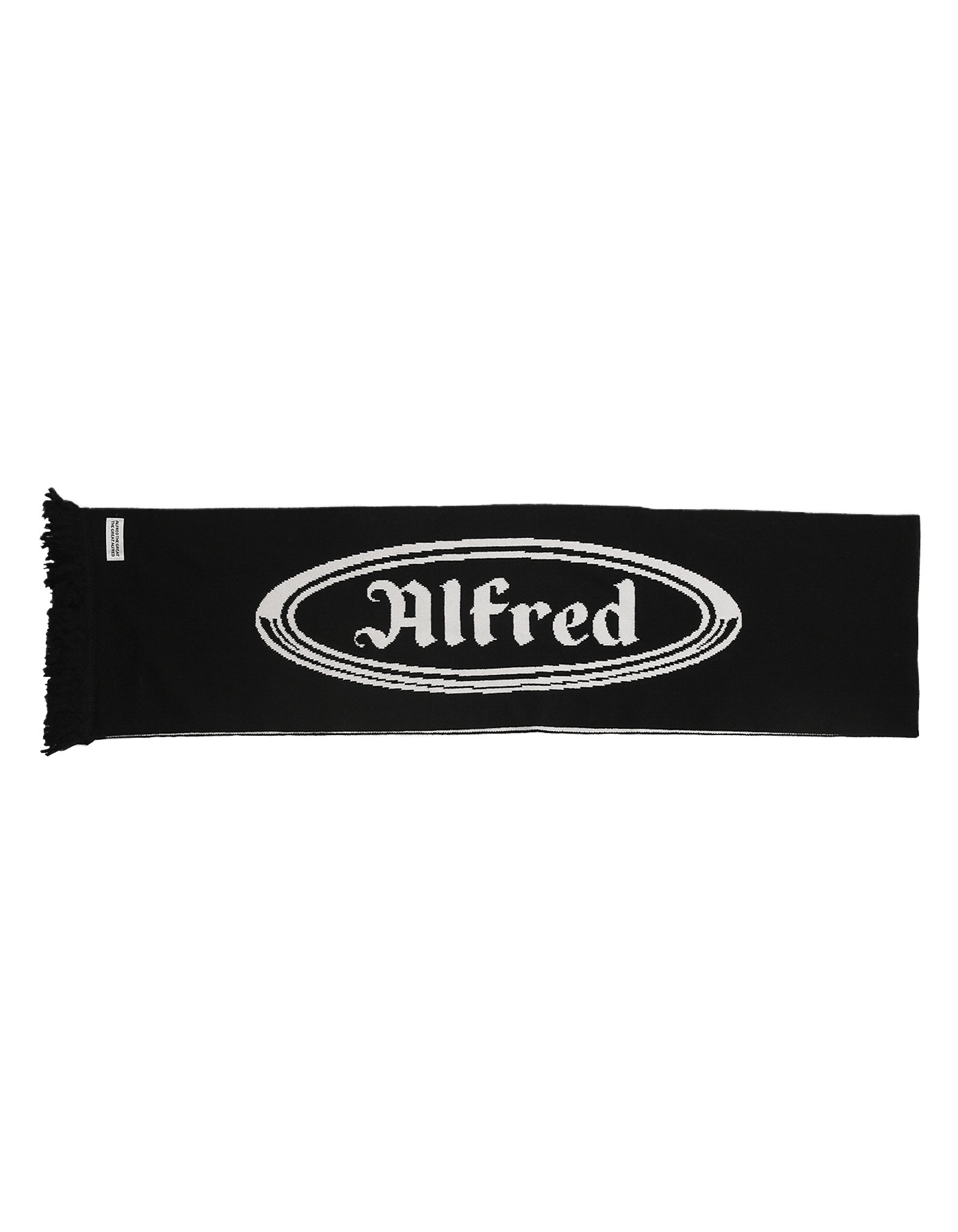 FRED OG SCARF / BLACK-WHITE