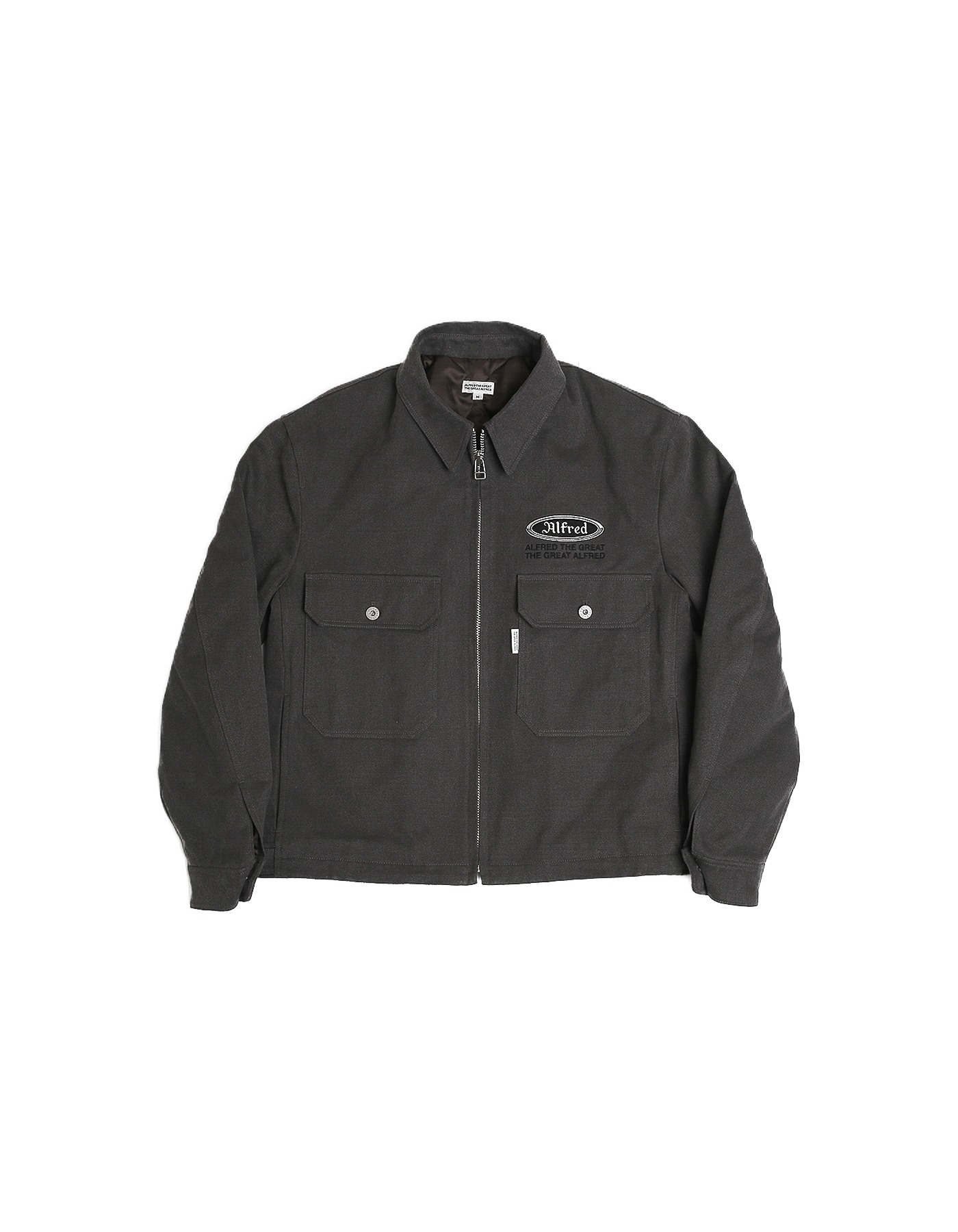 FRED MECHANIC JACKET / CHARCOAL