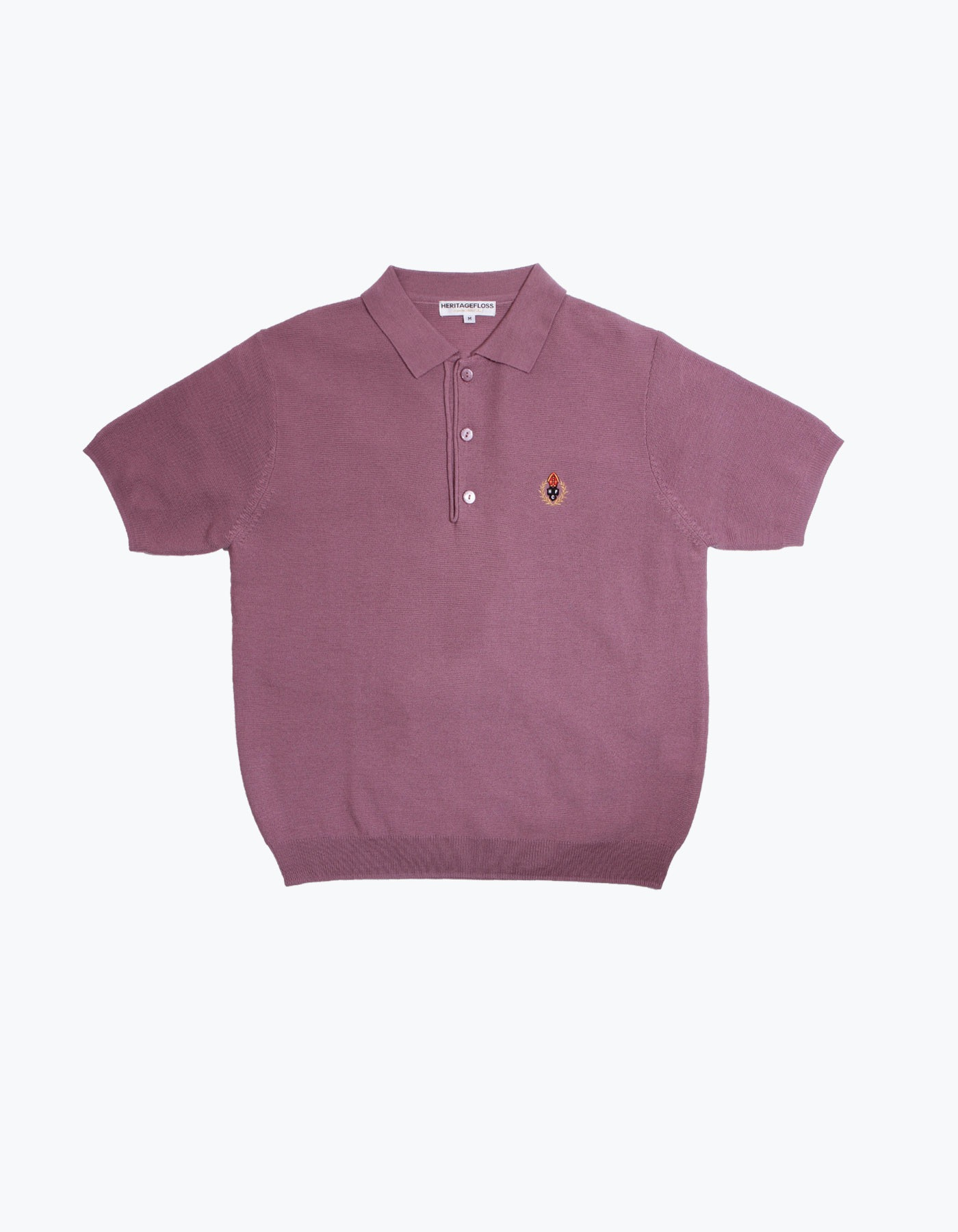HFC CREST POLO SHIRT / MAROON