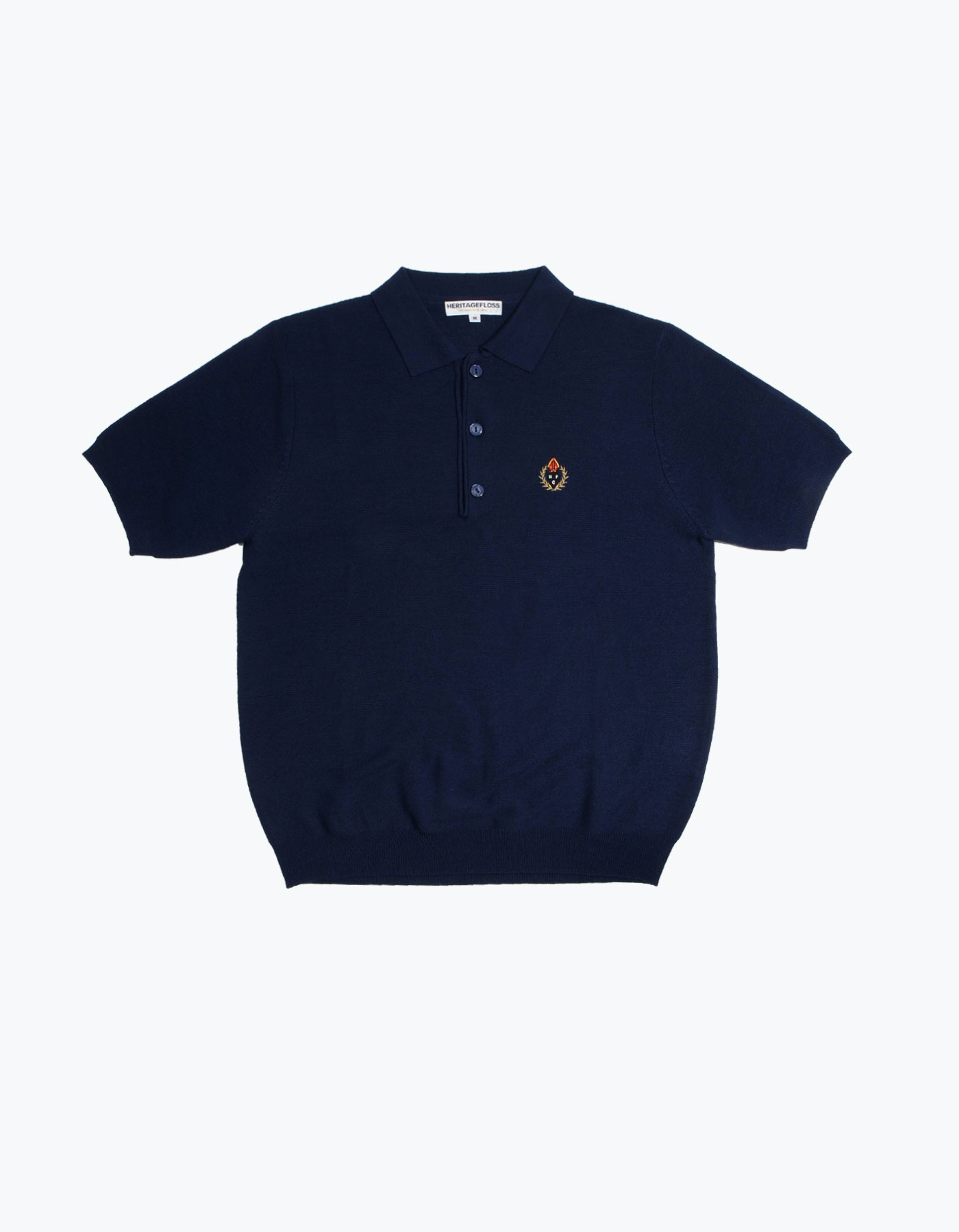 HFC CREST POLO SHIRT / NAVY
